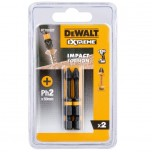 Биты ударные DEWALT Impact PH2 50мм (2 шт)