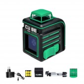 Лазерный уровень ADA CUBE 360 GREEN PROFESSIONAL EDITION