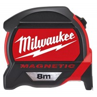 Рулетка Milwaukee 8 м с магнитом