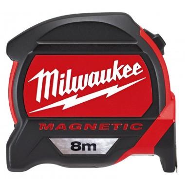 Рулетка Milwaukee 8 м с магнитом