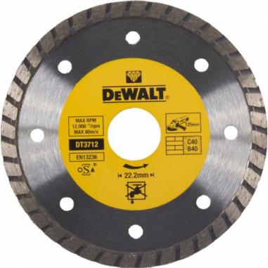 Алмазный диск DeWalt 125 мм DT3712QZ