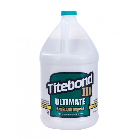 Клей Titebond III Ultimate повышенной влагостойкости (3,78 л)