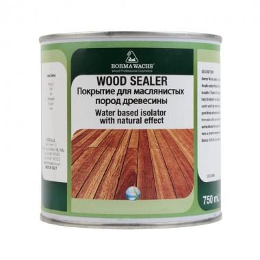 Покрытие для маслянистых пород древесины Wood sealer 750 мл