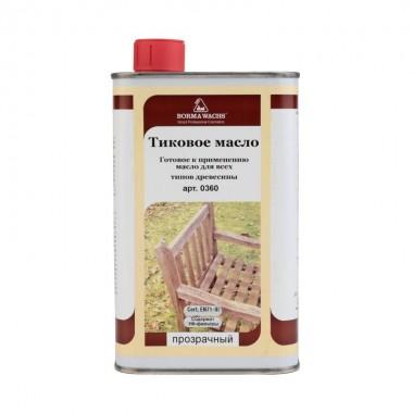 Тиковое масло Borma wachs 1000 мл