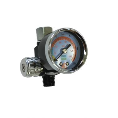 Регулятор давления с манометром для краскопульта