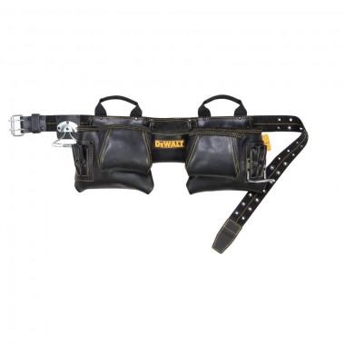 Пояс плотника кожаный DeWALT 12-Pocket