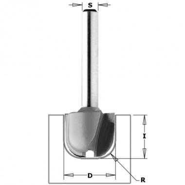 Фреза для изготовления желобков и чаш CMT 951.3216