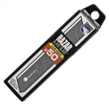 Лезвия Tajima Razar Black LB50RB 18 мм (50шт)