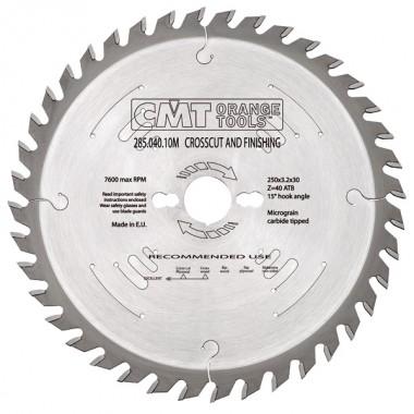 Диск пильный CMT 285 серия для чистового реза 260x30 60M