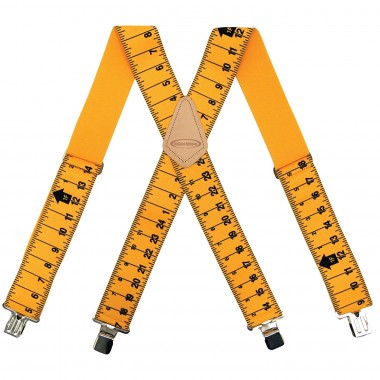 Подтяжки для строительного пояса желтые