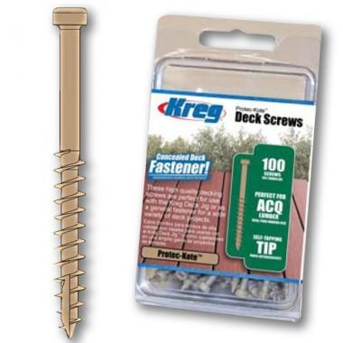 Саморезы 50мм для KREG DECK JIG (100 шт)