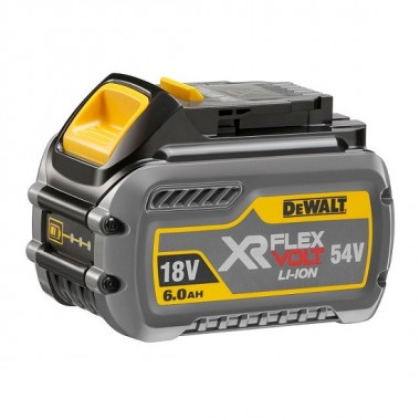Аккумулятор DEWALT Flexvolt 18/54V 6.0Ач