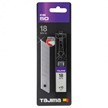 Лезвия Tajima Endura Blade СB-50 18 мм (10шт)