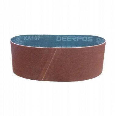 Шлифовальная лента DEERFOS 100 х 610мм, Р80