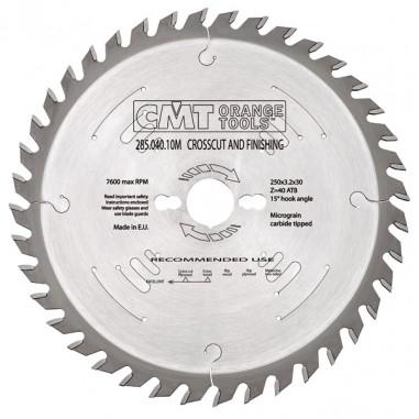 Диск пильный CMT для чистового реза 260x30 60M
