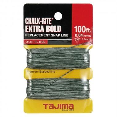 Сменный шнур Tajima Extra Bold 1мм для мела