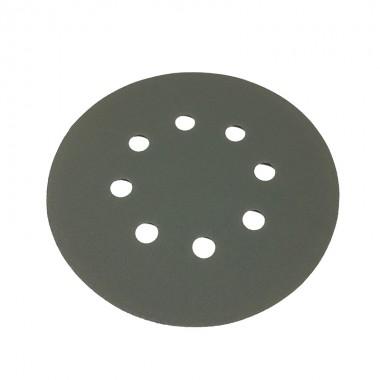 Шлифовальный круг DEERFOS (PLATINUM) P180, Ø125 мм, 8 отверстий