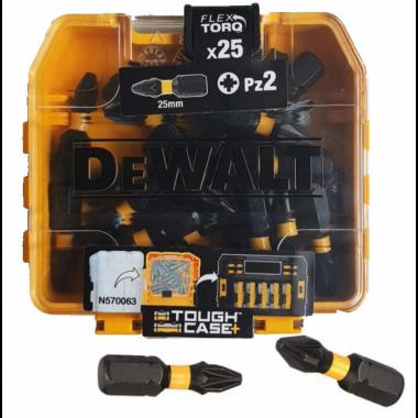 Набор бит Dewalt EXTREME FlexTorq PZ2 (25 шт)