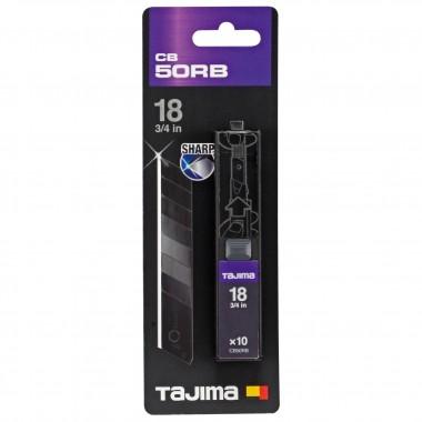 Лезвия Tajima Razar Black СB-50RB 18 мм (10шт)