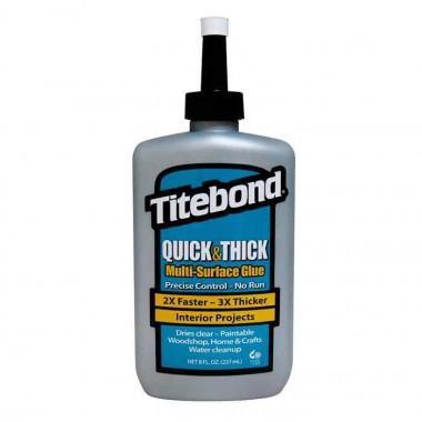 Клей Titebond QUICK&THICK столярный густой (237мл)