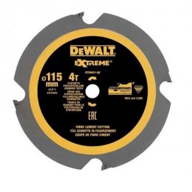 Диск пильный DEWALT EXTREME 115 x 9.5 мм 4T