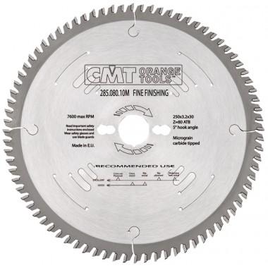 Диск пильный CMT 285 серия для чистового реза 315x30 72M