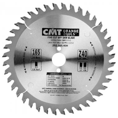 Диск пильный CMT чистый рез 160х20 40H