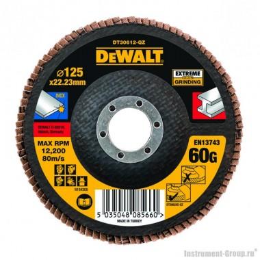Круг лепестковый DeWalt 125 x 22.2 мм, 60G DT3266-QZ