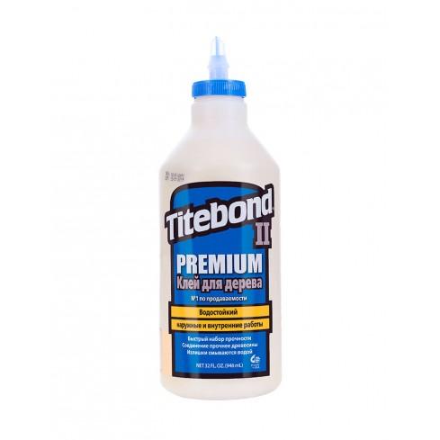 Клей Titebond II Premium столярный влагостойкий (946 мл)