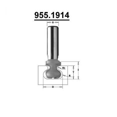 Фреза для ручек интегрированных в мебель CMT 955.1914