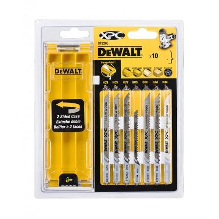 Пилки для лобзика DeWalt DT2296 (10 шт)