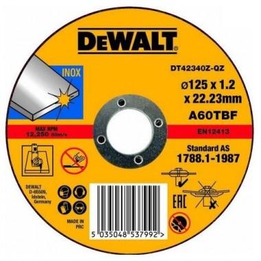 Круг отрезной по металлу DeWalt Industrial 125 мм