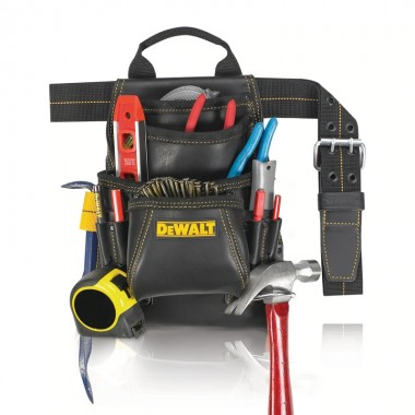 Пояс плотника кожаный DeWALT 10-Pocket