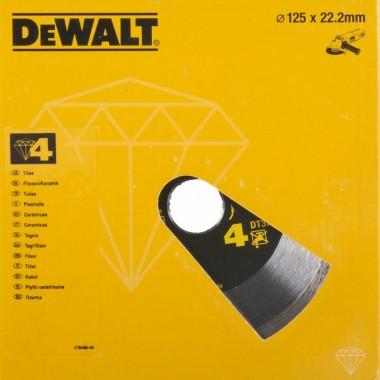 Алмазный диск сплошной DeWalt 125 мм DT3736