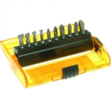 Набор бит DEWALT 25 мм (11 шт) с магнитным держателем