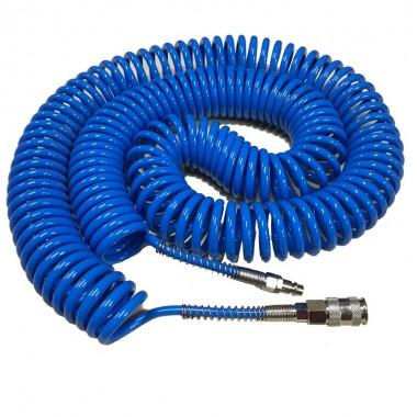 Шланг спиральный 5х8мм (20 м) компактный