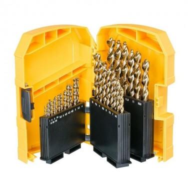 Набор сверл по металлу DEWALT HSS-G 1-13 мм (29 шт)