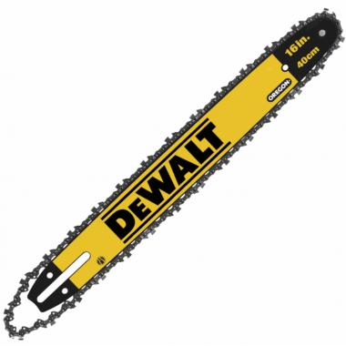 Шина с цепью 40 см для цепных пил DEWALT DT20660-QZ