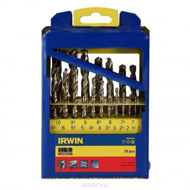 Набор свёрл IRWIN HSS-Pro (19 шт)