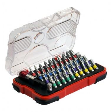 Набор 42 биты 25 мм + магнитный держатель