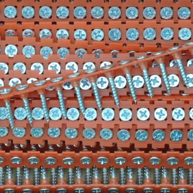 Саморезы в ленте по ГКЛ SPIT CS40 мм оцинкованные усиленные